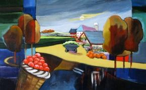 Hagerman Farms - acrylic