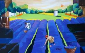 Lavender-Farm