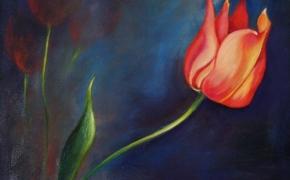 The Tulip - oil