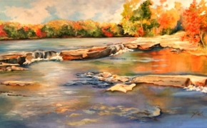 Vanderwater Park  - acrylic - not available