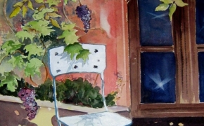 The Chair - watercolour